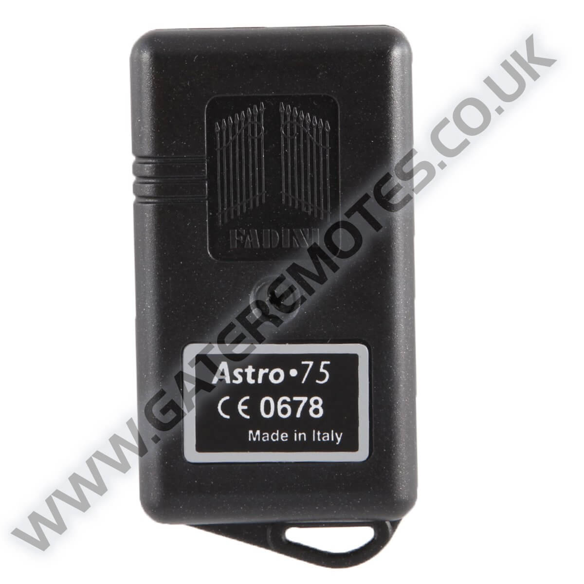 Fadini Astro 75//4 Gate /& Garage Door Remote Fob Transmitter