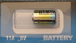 BATTERIES 1 X 6VOLT 11A