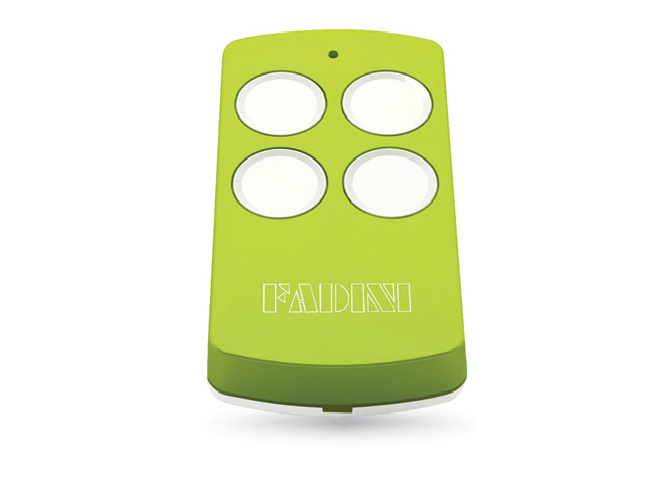 Fadini VIX 53 - Lime Green | Gate and garage door remote