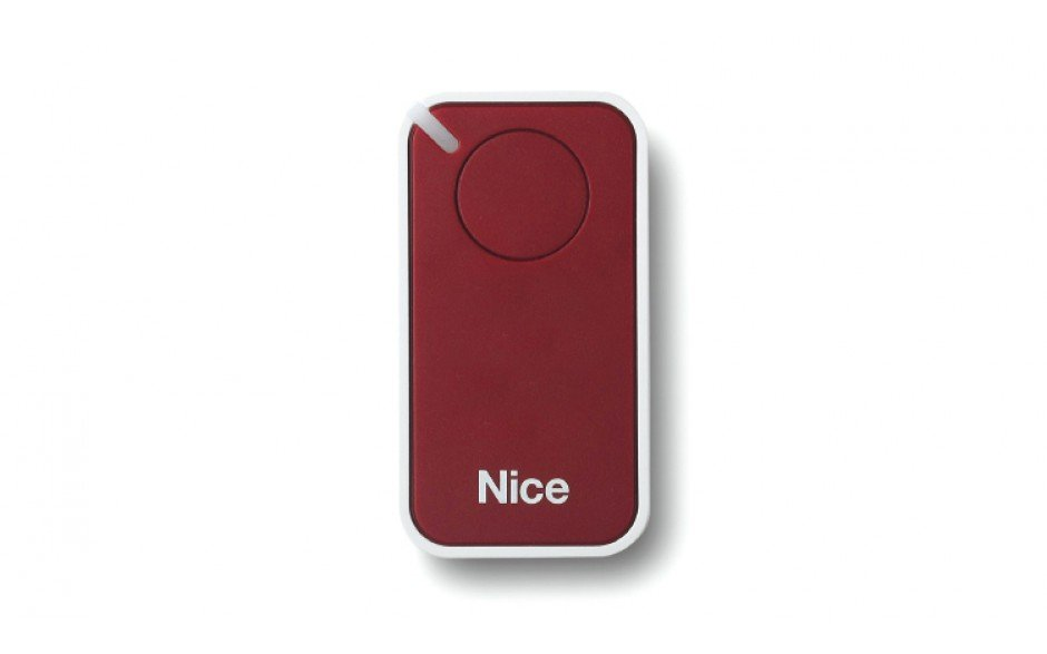 Nice Inti 1 - Red | Gate and garage door remote